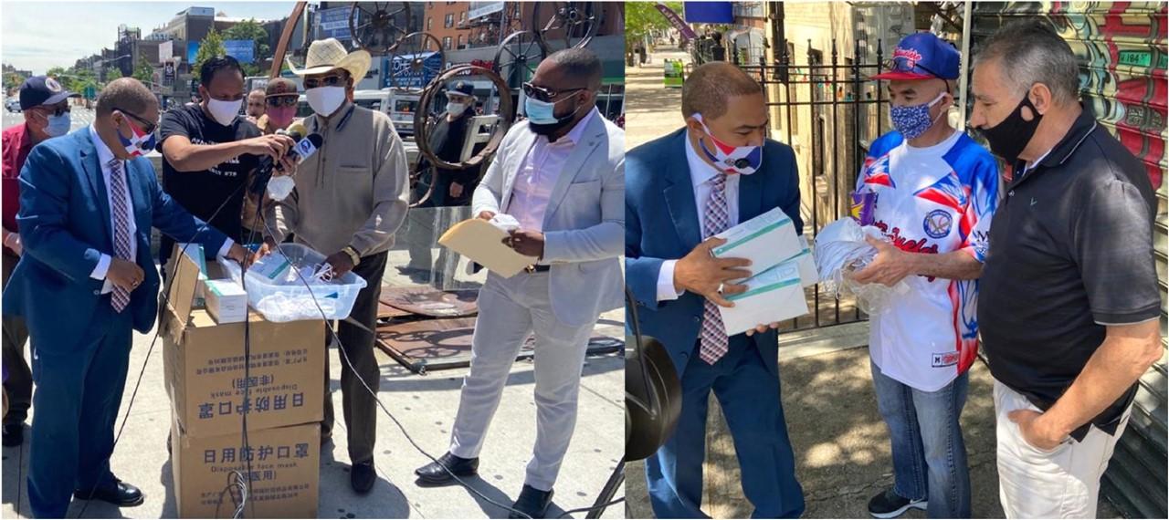 Polanco distribuye 15 mil mascarillas para protección de votantes en exitoso recorrido electoral
