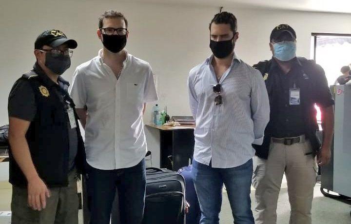 Capturan en Guatemala a los hijos del exmandatario panameño Ricardo Martinelli por lavado de dinero