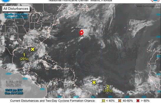 Se forma en el Atlántico la tormenta tropical Edouard