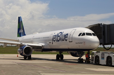 Exclusiva: Actualización, JetBlue opera 199 vuelos semanales a 4 aeropuertos de República Dominicana