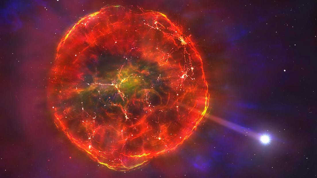 Una explosión termonuclear lanza una enana blanca a toda velocidad por la Vía Láctea