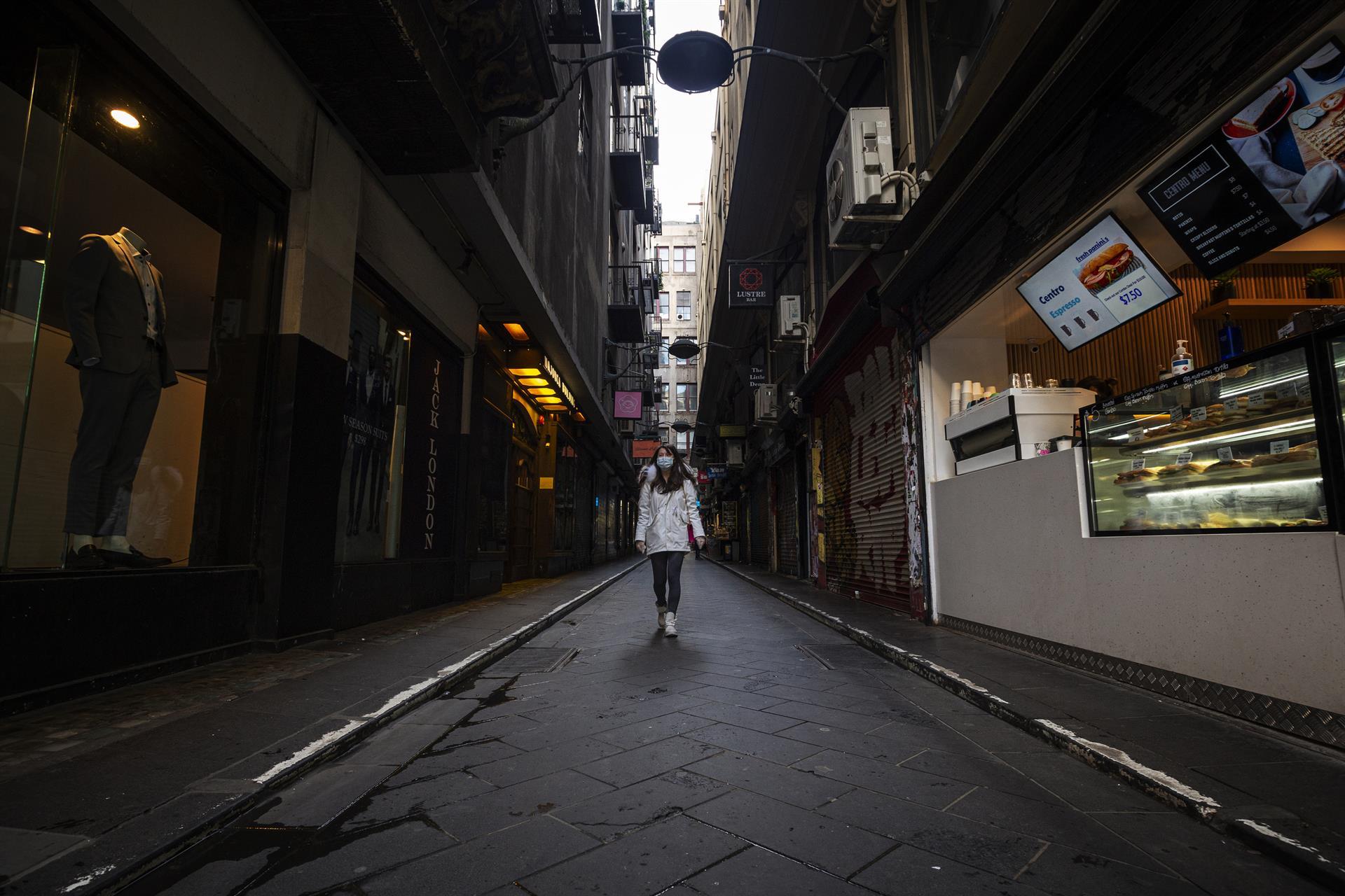 La economía australiana retrocederá un 3.75 % este año por el covid-19