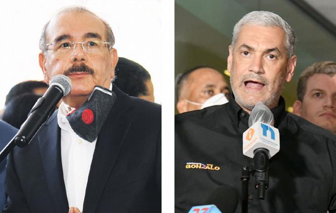 Danilo y Gonzalo reconocen el triunfo de Luis Abinader