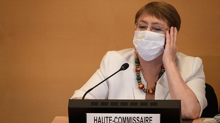 Bachelet critica reacción ante la pandemia de China, Rusia y Estados Unidos