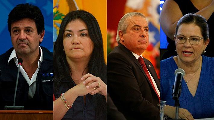 """Ya van ocho: Los ministros de Salud latinoamericanos que han """"caído"""" por el covid-19"""
