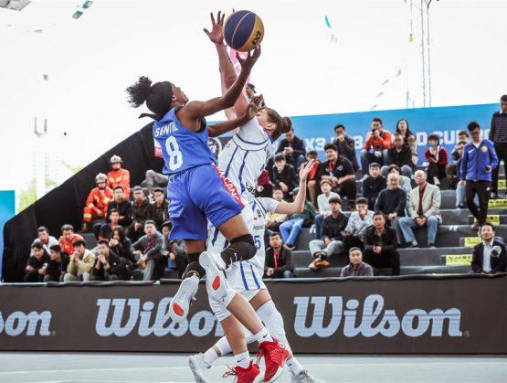 Nelsy Sentil simboliza los sueños olímpicos 3×3 de R.Dominicana