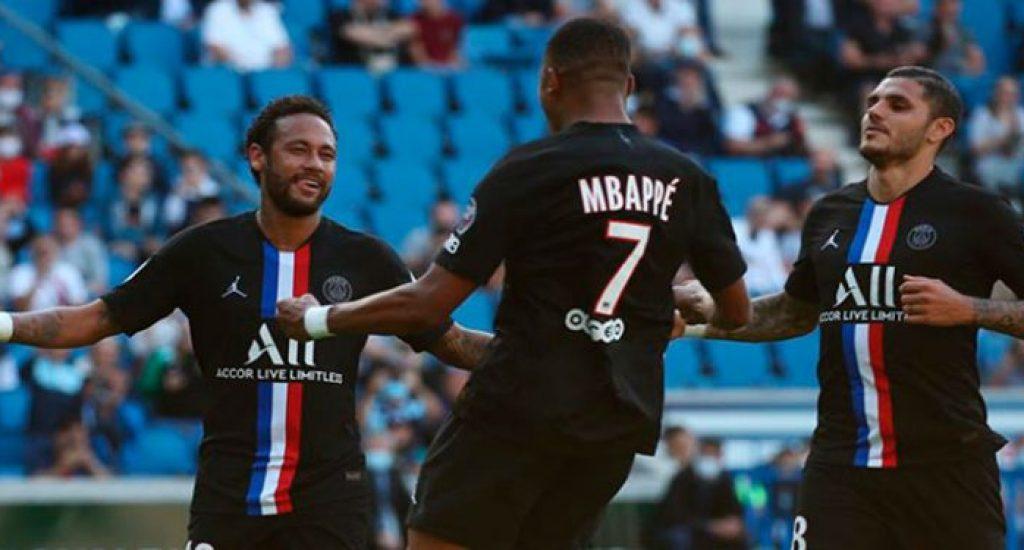 PSG da una súper goleada al Le Havre