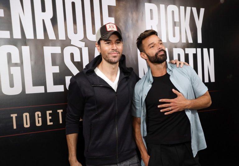 Ricky Martín y Enrique Iglesias retomarán su gira para el 2021