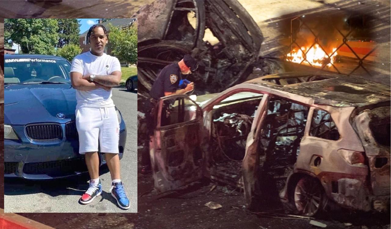 Adolescente dominicano y su novia mueren carbonizados en brutal accidente en autopista de El Bronx
