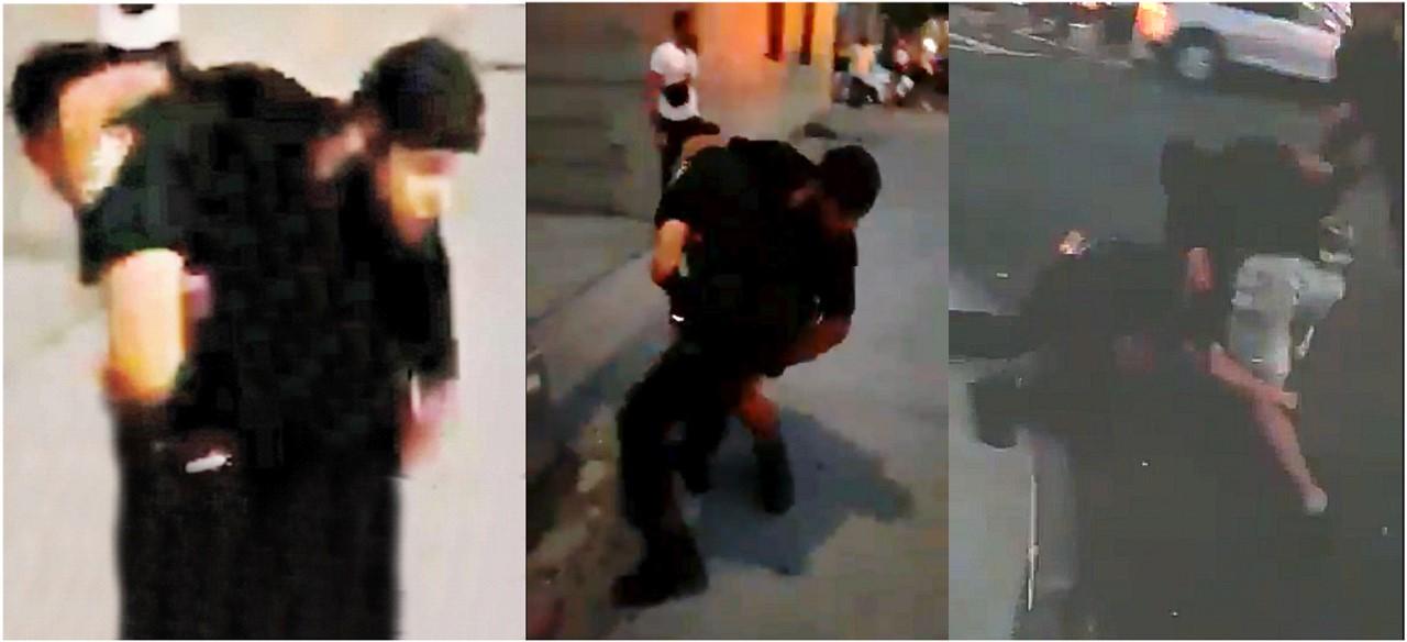 Presunto pandillero dominicano intenta obstruir arresto de compañero y lucha cuerpo a cuerpo con sargento en calle de El Bronx