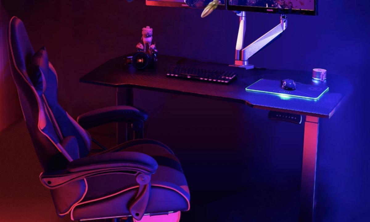 Xiaomi vende un escritorio gaming con acabado en fibra de carbono y altura regulable