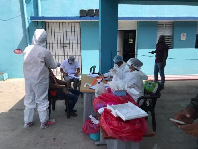 Realizan pruebas del Covid-19 a reclusos en Bonao