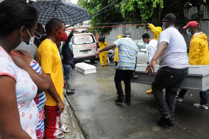 COE: 1050 personas evacuadas y 210 viviendas afectadas por tormenta Laura