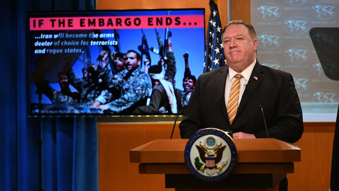 """Critican a Pompeo por decir que """"ningún otro Estado"""" puede bloquear las sanciones """"multilaterales"""" contra Irán que quiere imponer EE.UU."""