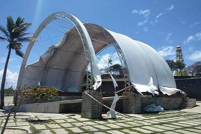 Reclaman indiferencia del Patronato del Anfiteatro de Puerto Plata ante progresivo deterioro de sus instalaciones