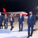 Canciller de Turquía llegó esta noche al país para asistir a toma de posesión de Luis Abinader