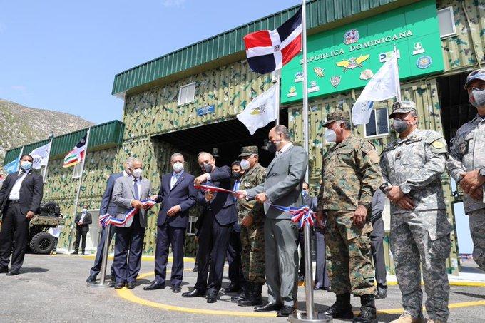 Danilo Medina entrega puesto interagencial en Jimaní para reforzar seguridad fronteriza