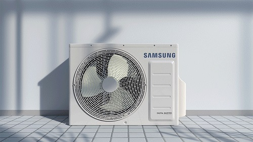 Deje el calor y el polvo fuera de casa  con su aire acondicionado de Samsung