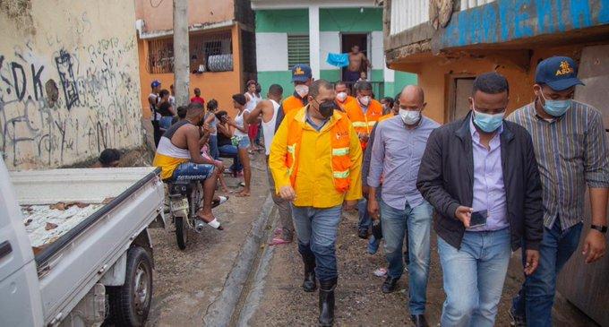 Alcaldía de SDN destinará 25 millones para soluciones en comunidades afectadas por Laura