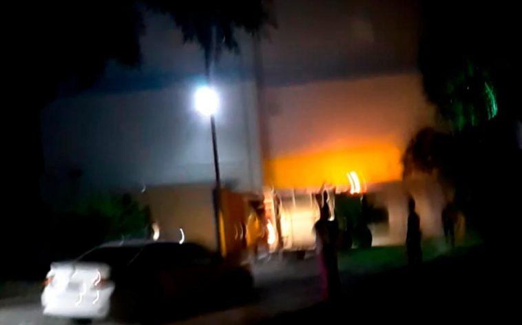 Fuego afecta Hospital Oliver Pino en San Pedro de Macorís