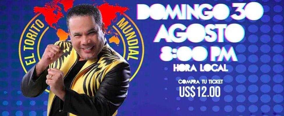 """Héctor Acosta """"El Torito"""" en su primer gran Live Torito"""