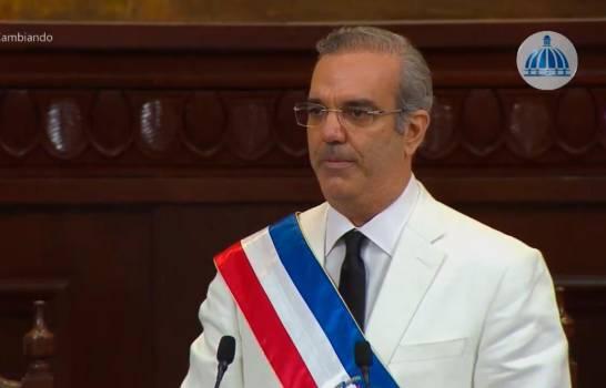 Luis Abinader ya es el presidente de todos los dominicanos