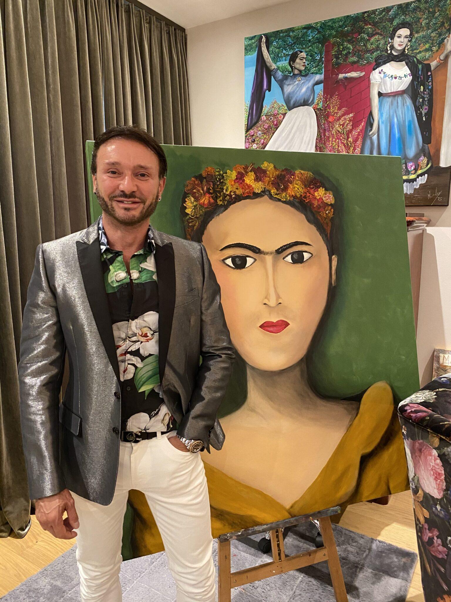 Marco Lux es la cara del arte en Alemania