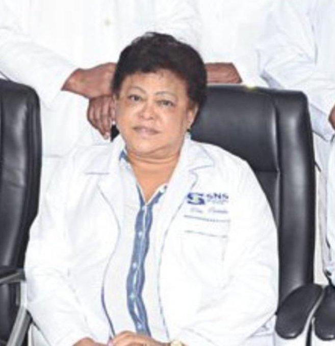 Muere por coronavirus directora de hospital Jaime Lavandier en SFM