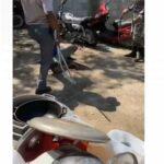 Policías castigan a supuesto ladrón