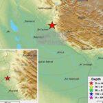 Se registra un sismo de magnitud 4,9 en la frontera entre Irán e Irak