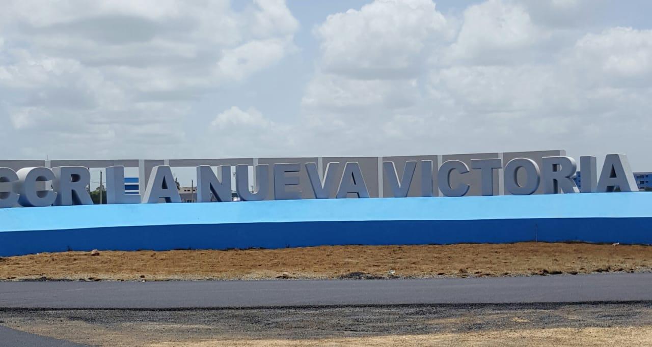 Agilizan a toda velocidad trabajos en La Nueva Victoria; Pte. Medina inaugurará la obra este lunes