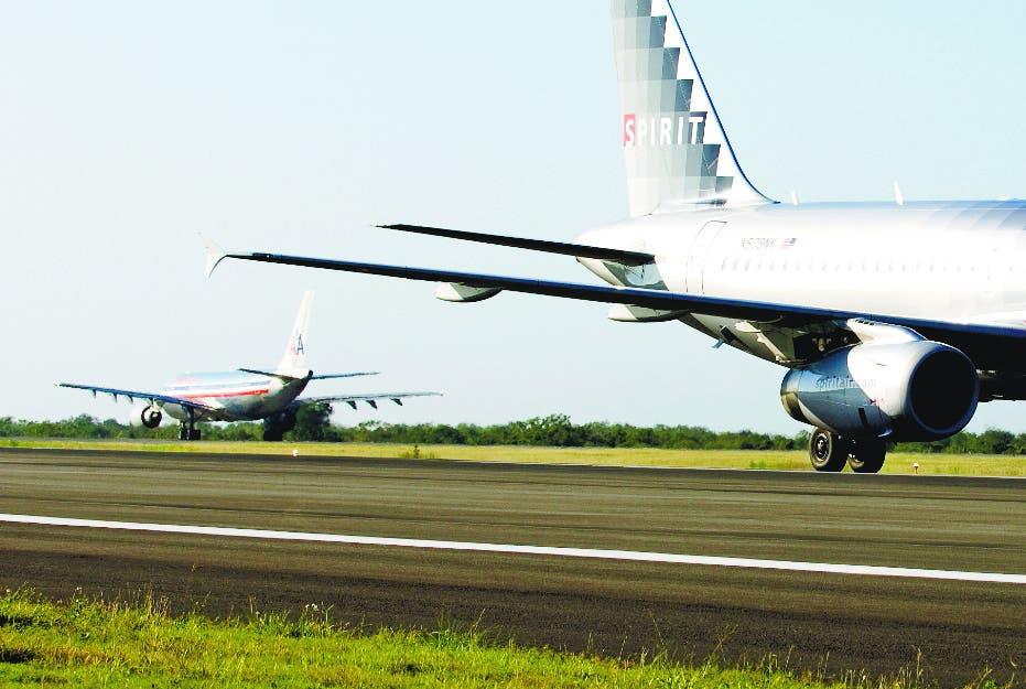 Veintiún aeropuertos fuera de RD están a distancia 19.3 kilómetros
