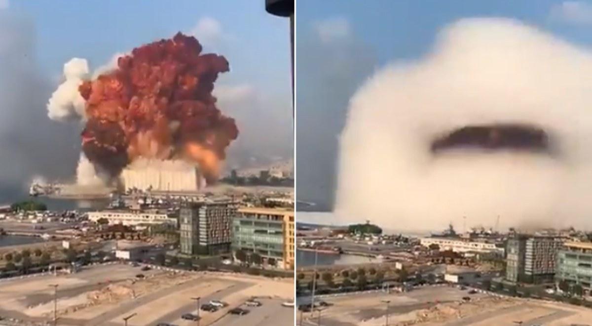 Líbano: Varios muertos y decenas de heridos tras potentes explosiones en Beirut