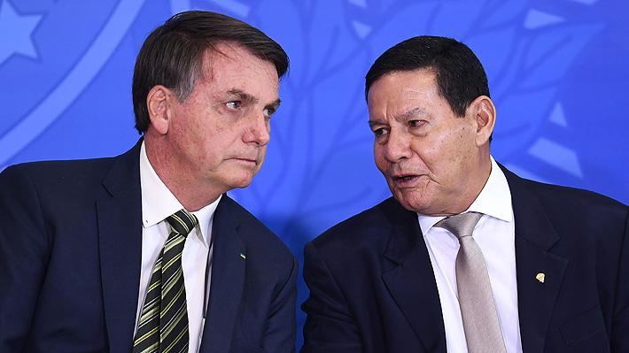 """Vicepresidente de Brasil y situación sanitaria: """"Las muertes por covid-19 duelen a todo el país"""""""