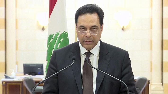 Primer Ministro libanés anuncia la dimisión de todo su Gobierno tras crisis por explosión en Beirut