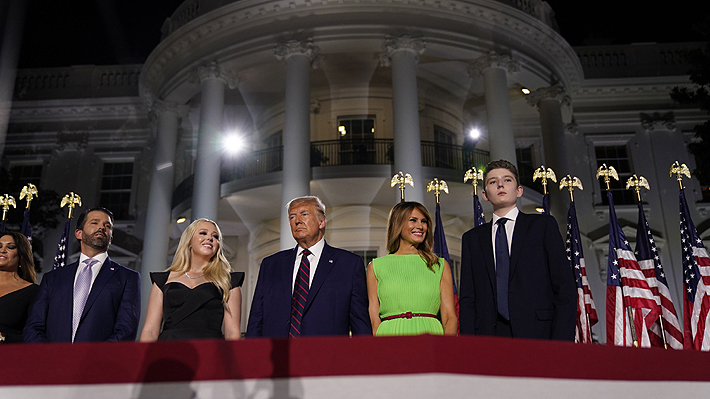 """Trump acepta la candidatura a la Casa Blanca y advierte un """"caos"""" en EE.UU.si Biden gana las elecciones"""