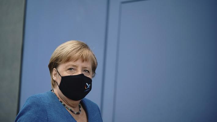 """Angela Merkel: """"La prioridad es que los niños no sean los perdedores de la pandemia"""""""