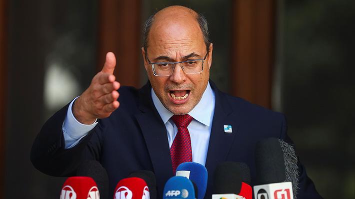 Justicia destituye a gobernador de Río de Janeiro por manejo irregular de fondos en la gestión de la pandemia