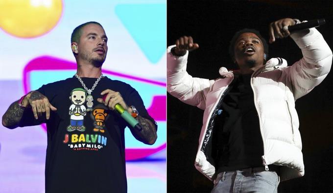 J Balvin y Roddy Ricch ya no actuarán en los Premios MTV