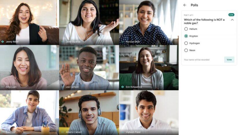 Google Meet se actualizará con funciones dirigidas al mundo profesional y la educación