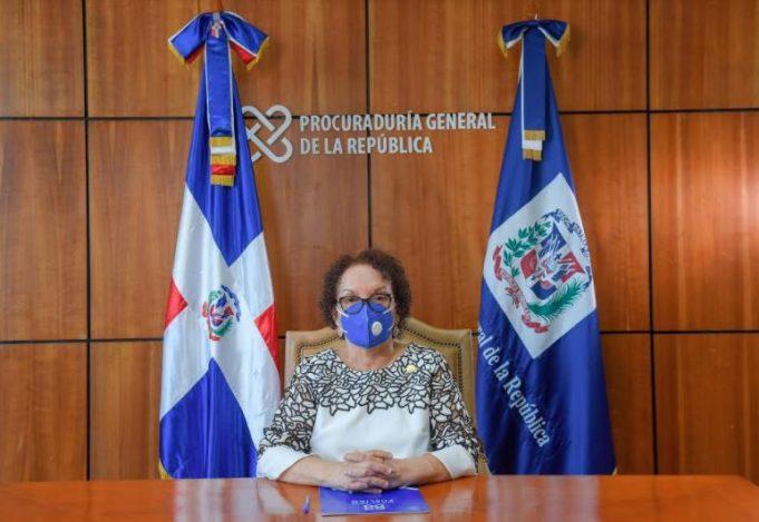 """Miriam Germán: """"No toleraremos la corrupción, el narcotráfico ni ningún otro delito"""""""