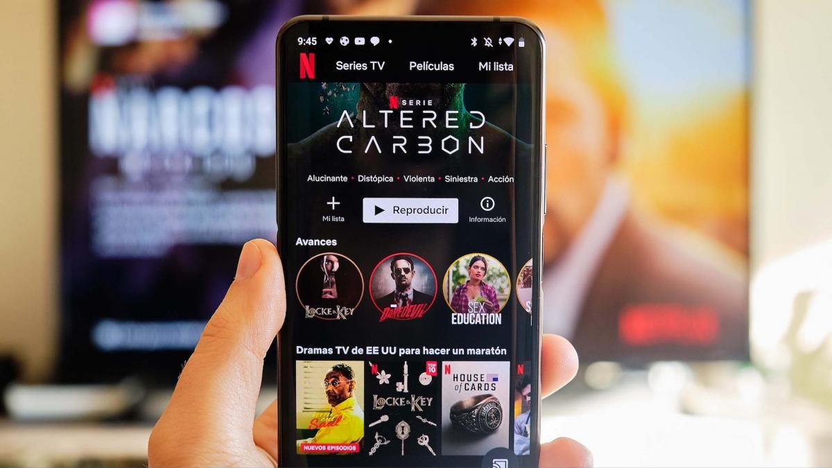 Así puedes ver series de Netflix más rápido en tu móvil