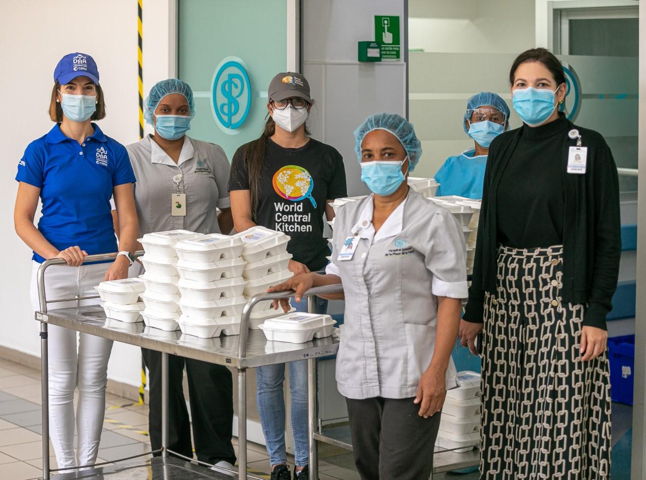 InterEnergy Group y World Central Kitchen suman esfuerzos en apoyo al personal sanitario