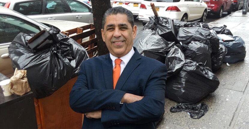 Espaillat, instituciones y funcionarios encabezarán operativos de limpieza en zonas del distrito 13 por acumulación de basura