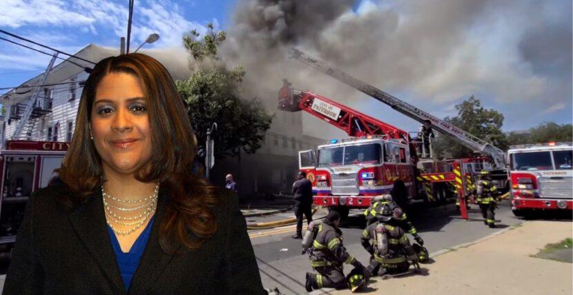 Fiscal dominicana investiga fuego sospechoso que dejó 4 bomberos lesionados y 20 familias desplazadas en Nueva Jersey