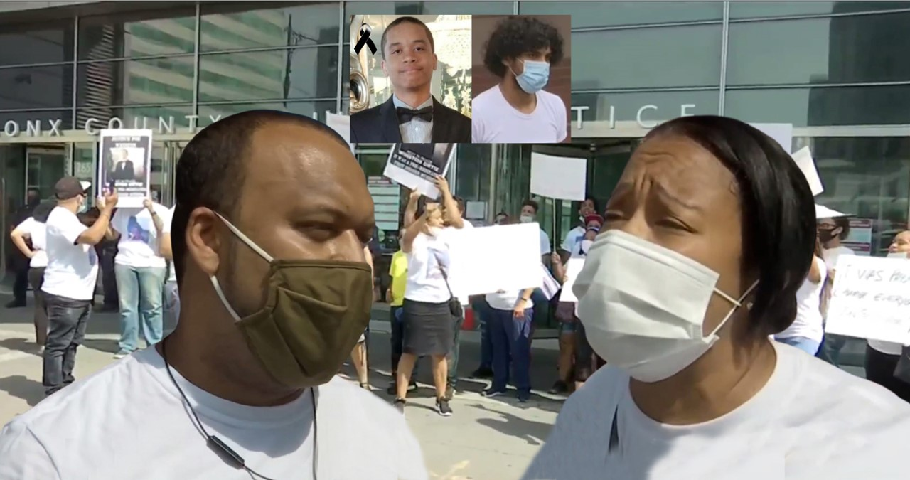 Padres de estudiante dominicano asesinado y quemado vivo se movilizan pidiendo justicia