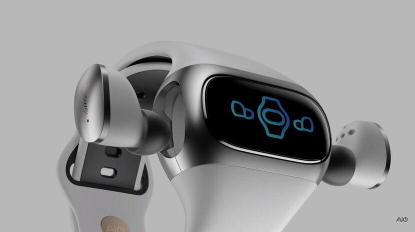 Wearbuds, los auriculares que se guardan y se cargan dentro de la pulsera de actividad