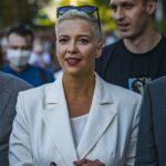 La opositora bielorrusa María Kolesnikova fue detenida en la frontera con Ucrania