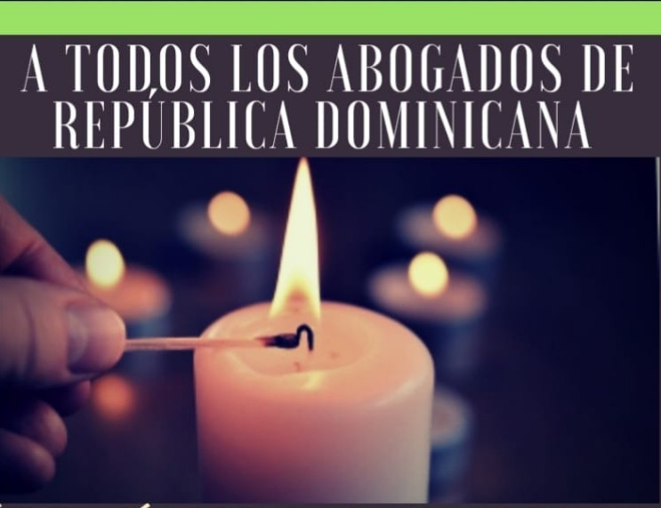 Abogados continuarán con encendido de velas en los Palacios de Justicia del País.