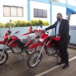 Alcaldía de Santo Domingo Norte recibe donación de motocicletas para la seguridad ciudadana